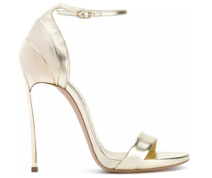 New Summer High Size and Slinky British Fashion Noble Women Shoes Sandals Wedding Shoes Gold and Silver,Silver,5