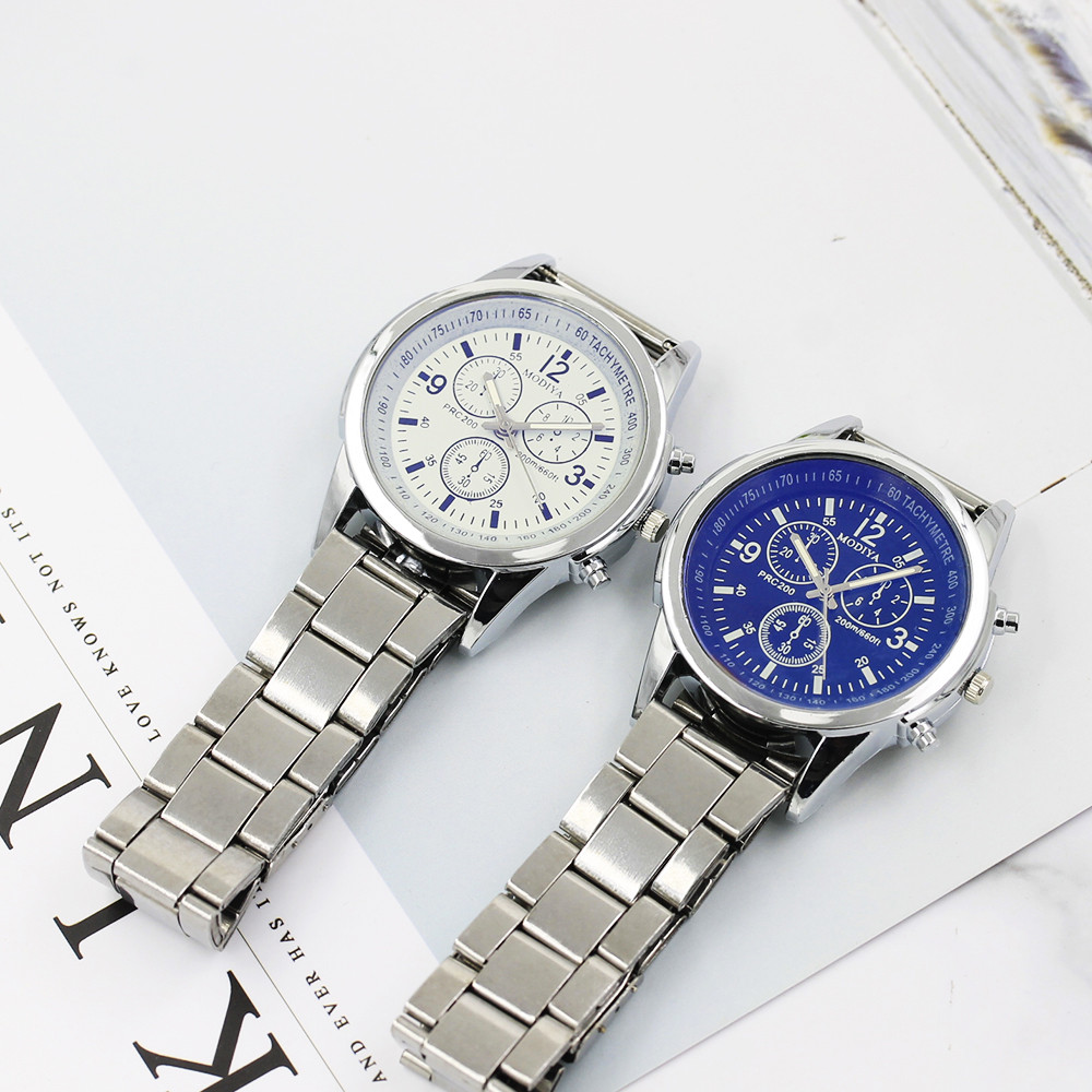 Luxury Style Fashionable High Hardness Glass Mirror Men And Women General Mesh Belt Watch dress Clock Gift for Lovers 2018(China)