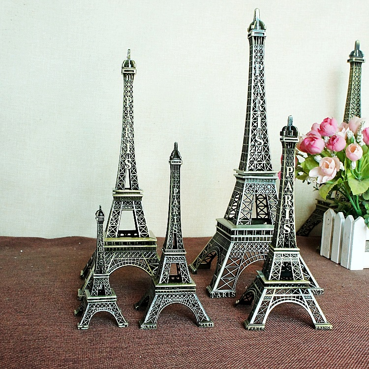 10pcs lot wholesale popular new home decor eiffel tower for Arts and crafts wholesale