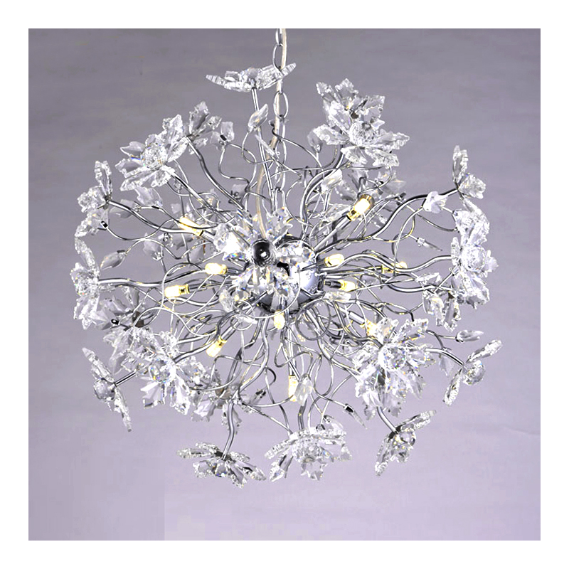 new beautiful crystal pendant light modern hanglamp diameter 50cm lustre LED light fixture dinning room lighting