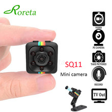 Roreta SQ11 HD mini Camera 1080p Sport DV Motion Recorder Camcorder Sensor Night Vision small cam SQ 11 Video micro camera(China)
