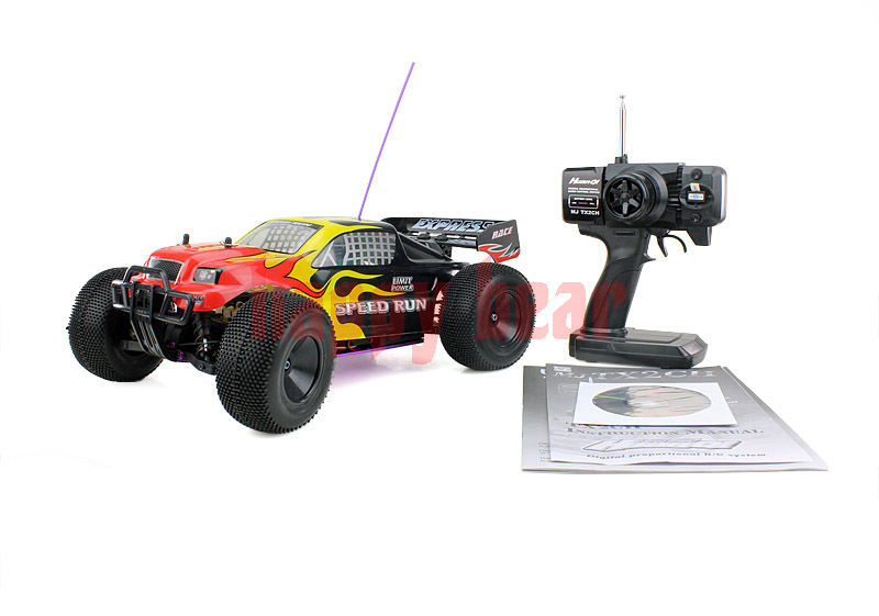 2014 Newest Gas Powered Remote Control RC Car 1:10 RC Off