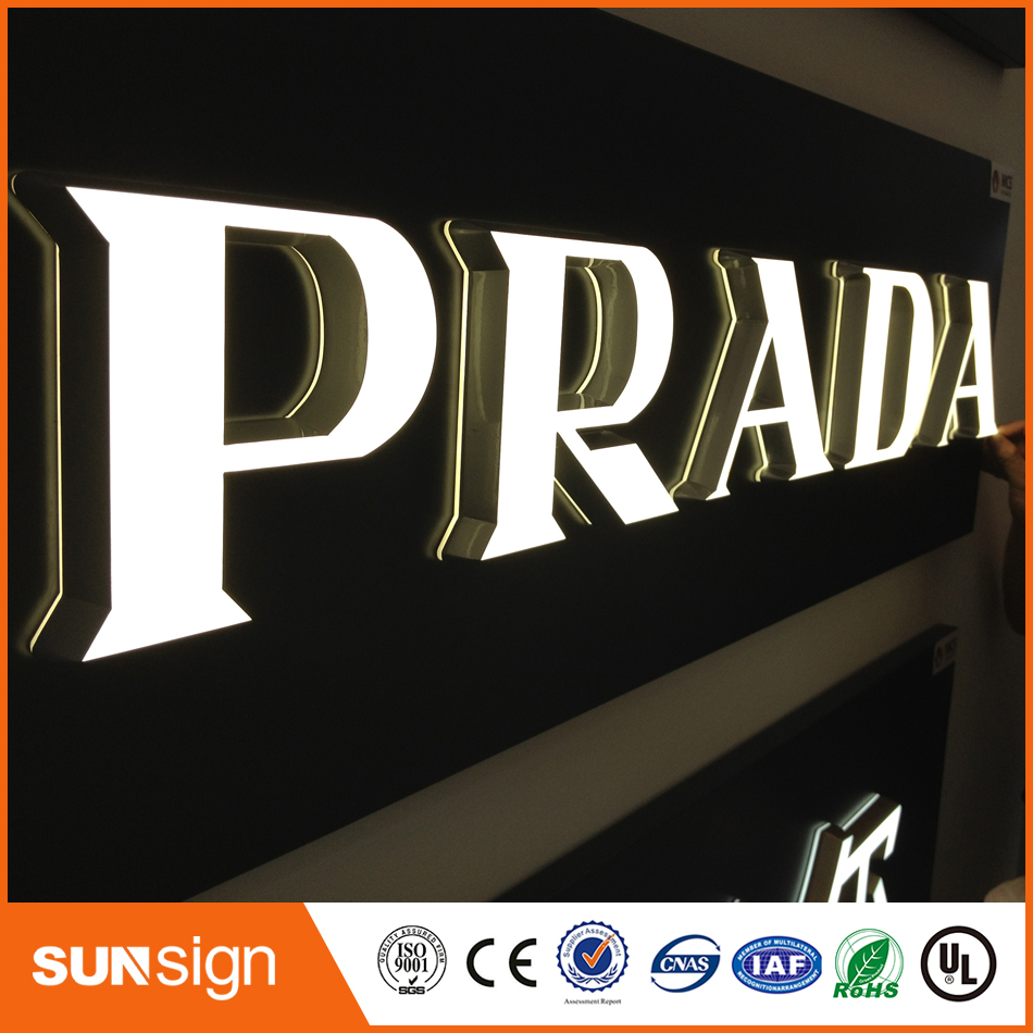 Waterproof LED Acrylic Mini Channel Letter