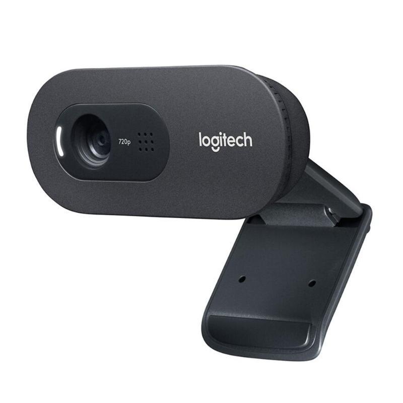 Logitech C270/C270i Webcam Widescreen 720p HD 1280*960 Câmera Web Na Webcam Embutida Microfone Flexível para Casa escritório Skype