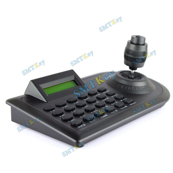 Security CCTV Camera 4 Axis Keyboard Controller LCD PTZ,RS-485 Half-duplex Communication Mode