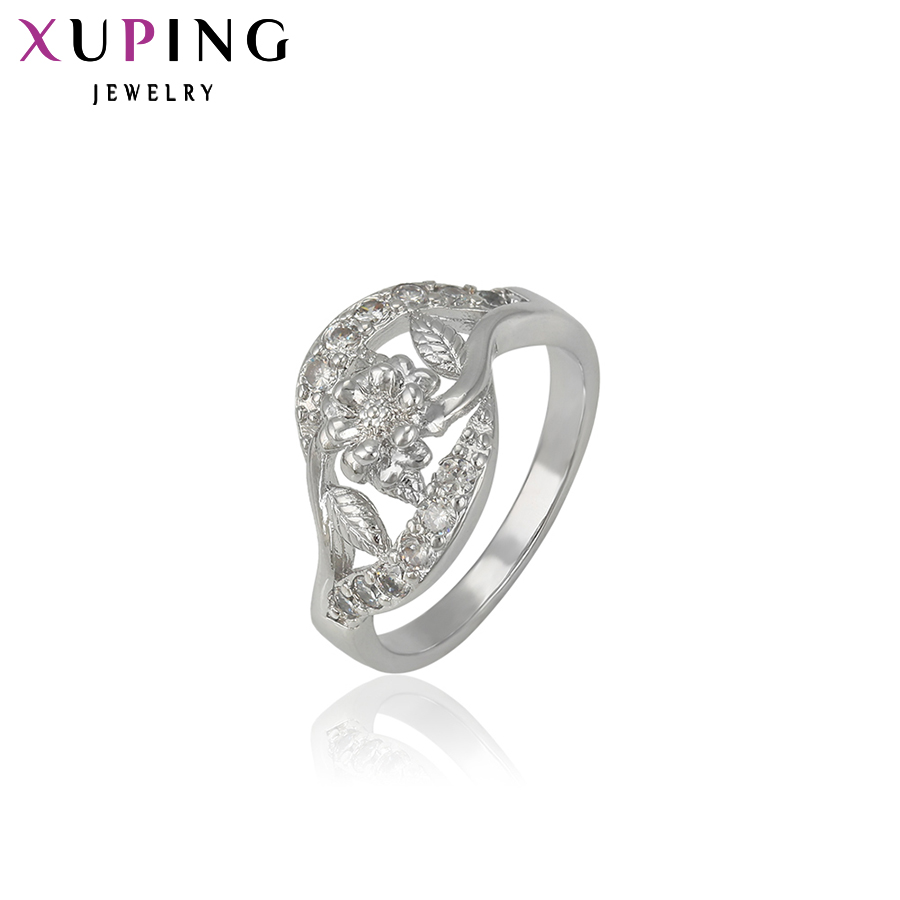 11.11 Xuping Fashion Ring Beautiful Jewelry Rings for Women Filled Synthetic CZ Wedding Ring Special Christmas Gift 13197