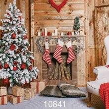 SJOLOON Рождественская фотография фоны chil фотография Фон Рождественская елка фото фон фотостудия виниловая опора