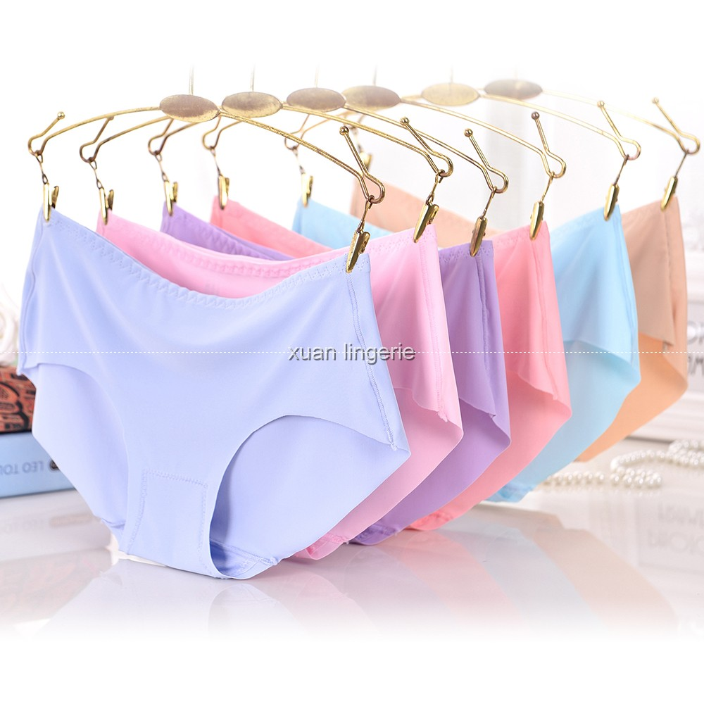 XXXL Seamless Panties Briefs for Women Underwear Cute Comfortable Bikini Ladies Invisible Traceless Panty Girls Sexy Lingerie