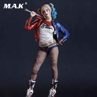 1 6 Scale Suicide Squad Joker Harley Quinn Action Figure Model Toy Harleen Batman Deadshot Venom