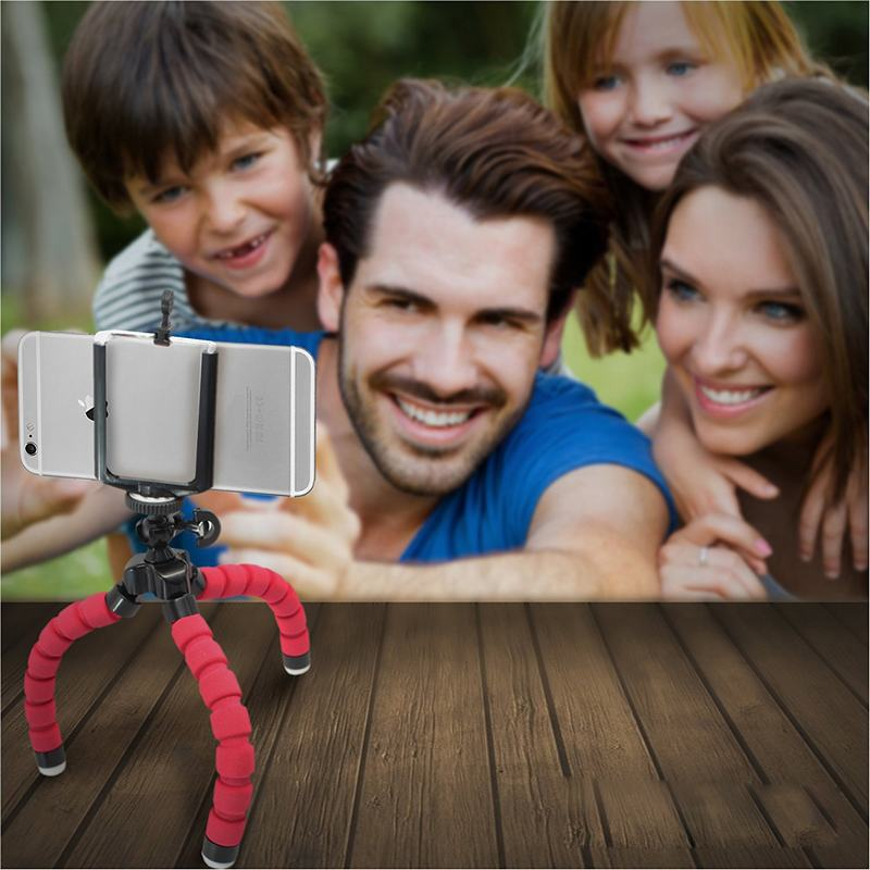 Bluetooth-Remote-Shutter-with-Flexible-Octopus-Mini-Phone-Tripod-Stand-Holder-For-iPhone-6S-7-5S-Plus-Xiaomi-mi5-Suporte-Celular-1 (7)