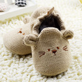 Baby Girl Shoes 0-18M Infant Toddler Baby Knit Crib Shoes Newborn Boy Girl Cartoon Shoes