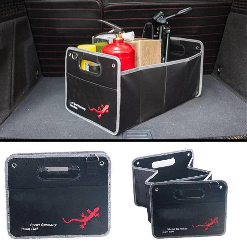 1X Accessoires De Voiture Coffre Rangement Rangement Boîte de Rangement Sac Pour AUDI A3 A4 B5 B6 B7 B8 A5 C5 A6 C6 C7 A7 A8 Q3 Q5 Q7 A1