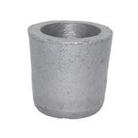 1 Foundry Silicon Carbide Graphite Crucibles Cup Furnace Torch Melting Casting Refining Gold Silver Copper Brass