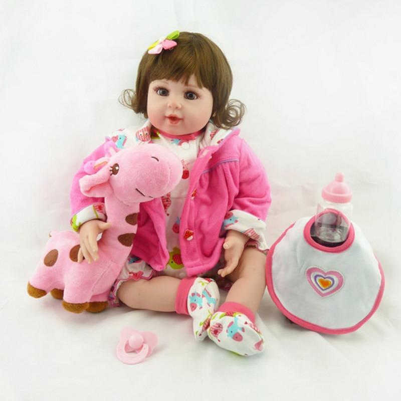 20 New Silicone vinyl adora Lifelike toddler Baby Bonecas girl kid doll baby reborn meninas silicone toys for children кукла adora baby doll 20 classic snow white