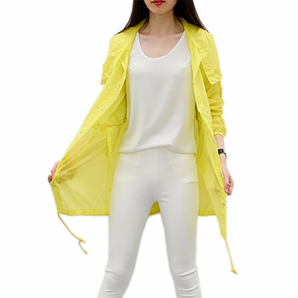 2017 Brand Summer Lady Sun Protection Jacket Beach Women