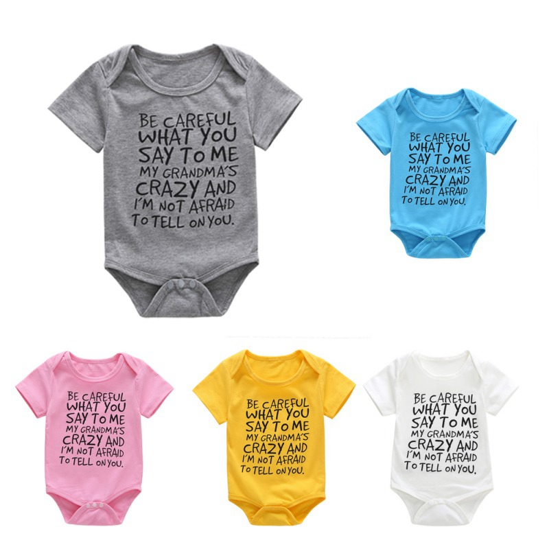 94a0376659068 Aliexpress.com : Buy Kids Clothes Baby Rompers Print Hawaii Seaside ...