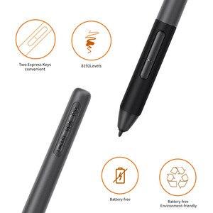 Image 3 - GAOMON PD1161 ips HD графический планшет для рисования с экраном графический монитор ручка дисплей с 8 клавиши быстрого доступа и 8192 уровни нажатия без батареи ручка