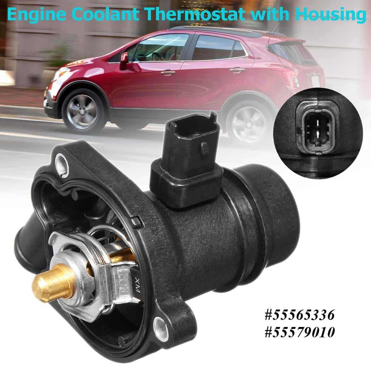 detail feedback questions about engine coolant thermostat with housing replacement for chevrolet buick cruze sonic encore 2011 2012 2013 2014 2015 2016 on  [ 1200 x 1200 Pixel ]