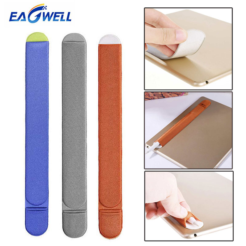 Eagwell For Apple Pencil Case Sleeve Bag Pouch Sticker Tablet Touch Stylus Pen Anti Lost Pouch Holder Protective Cover Bag