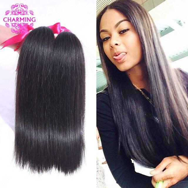 6A Peruvian Virgin Hair Straight 4 Bundle Deals Grace Hair Products  Puruvian Hair Bundles Cheap Straight Human Hair Weave Online 64d05422e