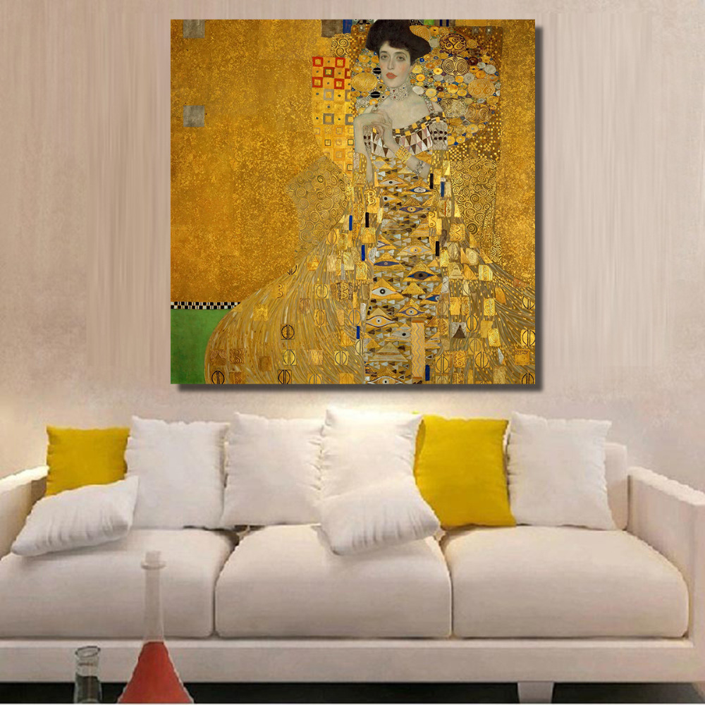HDARTISAN Modern Lady in temperament Canvas Art Colorful Decorative ...