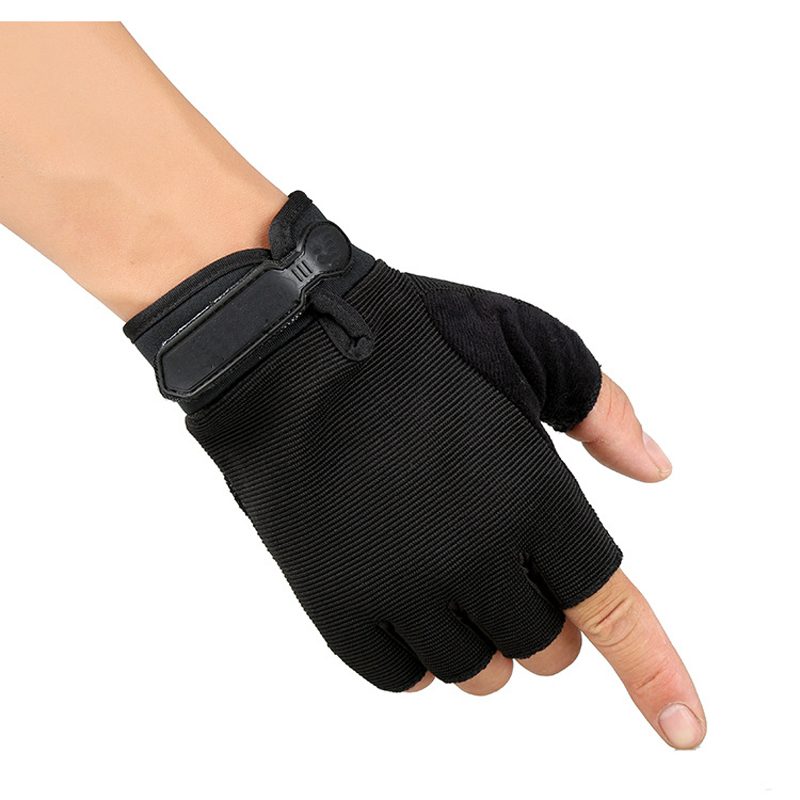 KUYOMENS Men Sports Fitness Gloves Exercise Training Gym Gloves Half Finger Weightlifting Gloves Multi function Glove
