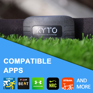 Image 2 - KYTO Heart Rate Monitor Chest Strap Bluetooth 4.0 Belt Fitness Smart Sensor Waterproof  Equipment For Gym Outdoor Sports