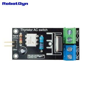 Image 3 - Tiristor Interruptor de Ca (relé), 3,3 V/5V logic, AC 220V/5A (pico 10A)