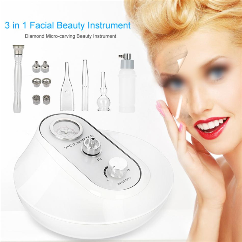 3 IN 1 Skin Rejuvenation Anti Aging Device Exfoliator Skin Tightening Wrinkle Removal Beauty Machine
