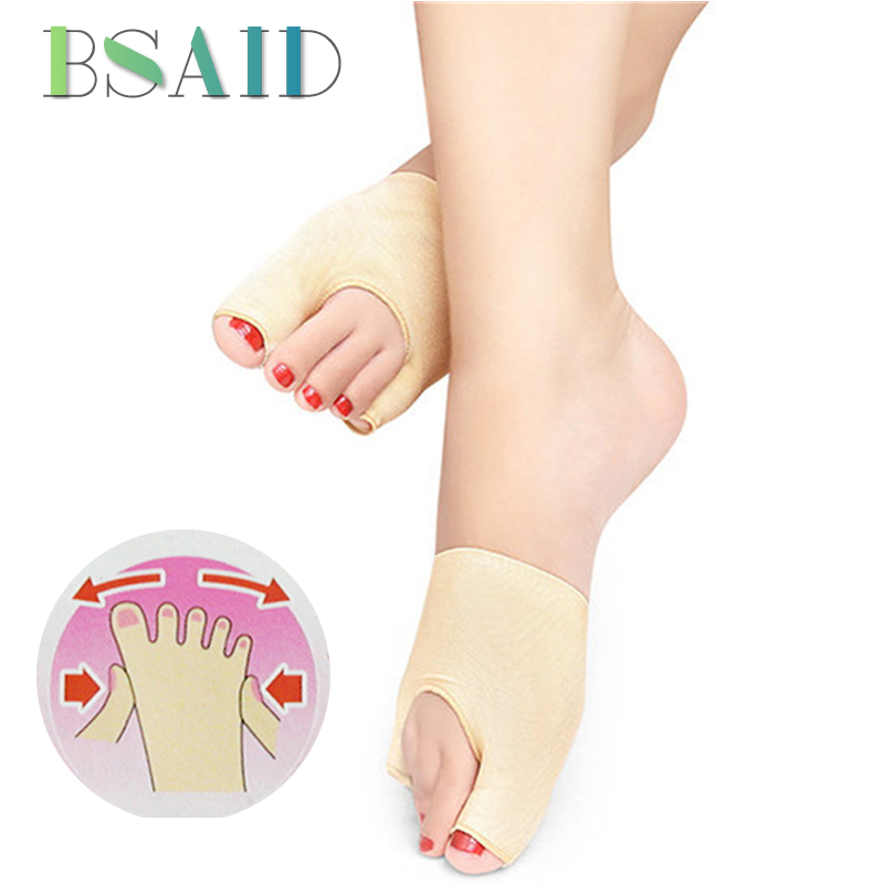 BSAID Breathable Hallux Valgus Corrector Women Forefoot Insoles Wearable Elastic Shoe Insoles Foot Corrector Inserts Shoe Pads expfoot pu cotton unisex bow leg valgus varus corrector orthotic insoles comfortable breathable massaging foot pads inserts