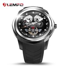 LEMFO ile LF17 Akıllı Seyretmek Telefon 512 MB + 4 GB SIM/TF Kart Yuvası Android 5.1 Bluetooth Bilek Smartwatch Erkekler kol