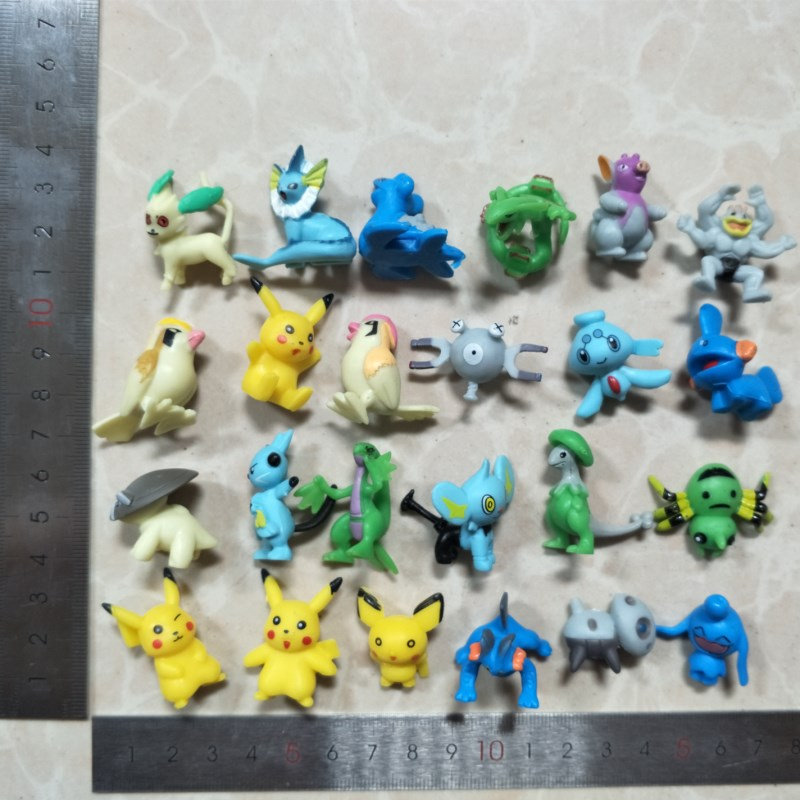 Party Favor 12pcs Button Set 1 inch Pokemon Charizard Pikachu Blastoise