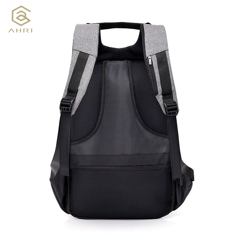 AHRI Men Backpack Anti Theft Password Locks Man USB Charging Laptop Backpacks Casual Travel Bags mochila 2018 Brand New