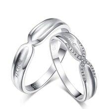 Love Diamond 18K Gold Diamond Wedding Ring Couple Set Engagement Proposal Ring for Men and Women Romantic Jewelry Fine Jewellery