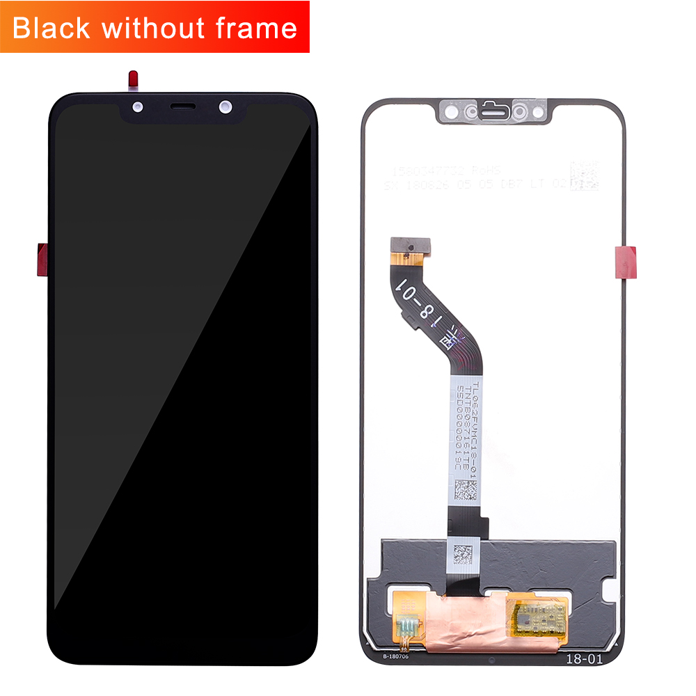 "100% Original+Frame For 6.18"" Xiaomi poco F1 LCD Display Touch Screen Digitizer Assembly for xiaomi mi Pocophone F1(10 point)-in Mobile Phone LCD Screens from Cellphones & Telecommunications"
