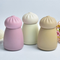 Cute Mini Thermos Cup Stainless Steel Thermo Coffee Mug Child Vacuum Cup Thermal Bottle Leak Proof