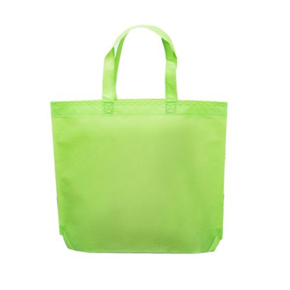 Image 5 - Women Foldable Nonwoven Shopping Bag Reusable Unisex Tote Shoulder Bag Grocery Storage Handbag Eco Shoppers Pouch Storage Bag-in Bags & Baskets from Home & Garden