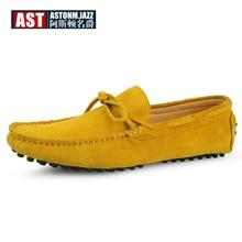 US6-11 Size Lớn 45 Bò Da Lộn Nam Slip On Cho Nữ Đơn Giản Có Xe Ô Tô Giày Moccasin Thuyền Tassel Loafer