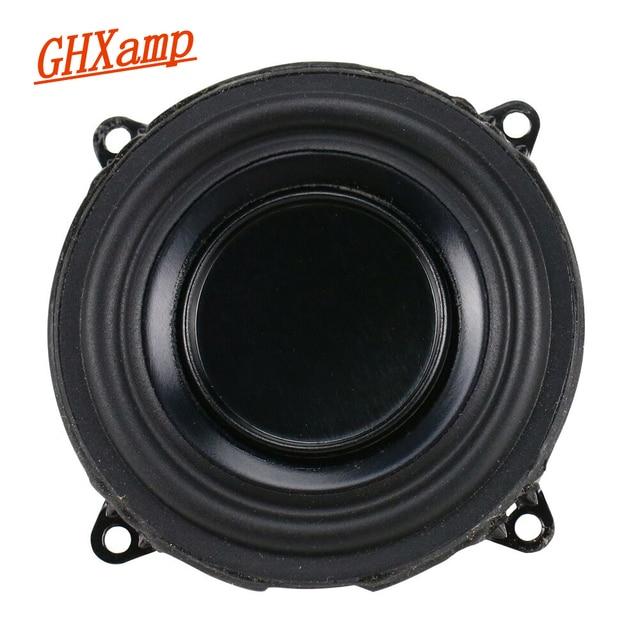GHXAMP 2 インチフルレンジスピーカー B & O Beoplay P2 3ohm 10 ワットネオジム Bluetooth 低音スピーカー DIY ロングストローク 1 ピース