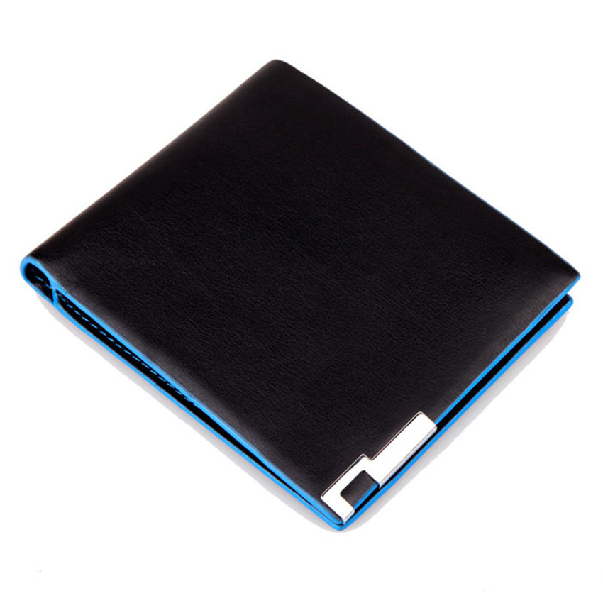 Men Stylish Bifold Leather Wallet Business Card Holder Small Wallet Clutch Fashion 2019 Purses Carteras Mujer Billetera Hombre