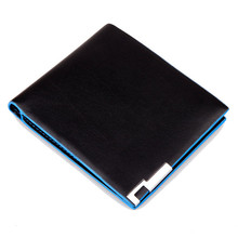 Men Stylish Bifold Leather Wallet Business Card Holder small