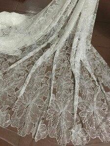 Image 2 - ร้อนขาย glued glitter ผ้าลูกไม้ tulle ผ้า glued glitter ลูกไม้ผ้า JIANXI.C 102716 สำหรับชุดปาร์ตี้