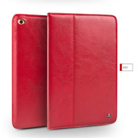 QIALINO Luxury Smart Stand Flip Cover Case For IPad Mini 4 Wake Up Sleep Function Genuine