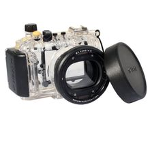 Meikon 40m Underwater Diving Housing Waterproof Case for Canon S120 as WP-DC51 meikon 40m wp dc44 waterproof underwater housing case 40m 130ft for canon g1x camera 18 as wp dc44