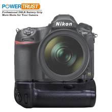 Powertrust vertical MB-D18 suporte de aperto da bateria para câmeras nikon d850 dslr como o trabalho com EN-EL15a EN-EL15 ou 8x aa bateria