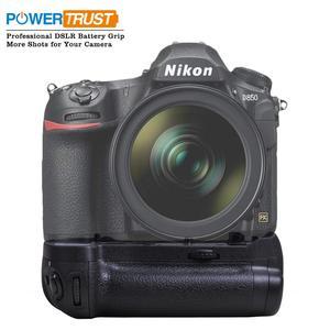 Image 1 - PowerTrust Verticale MB D18 Battery Grip Houder voor Nikon D850 DSLR Camera S Werken met EN EL15a EN EL15 of 8X AA Batterij