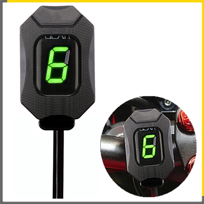 Motorcycle Gear Indicator For KAWASAKI Z750 Z750R Z800 Z800e Z1000 ER6N  ER6F Versys 650 Ninja 300 400 Z650 6 Gear Upgrade