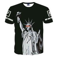 Mr 1991INIC Summer Mens 3d Printed T Shirt Men Funny Clown Printbrand Clothing Man S Short