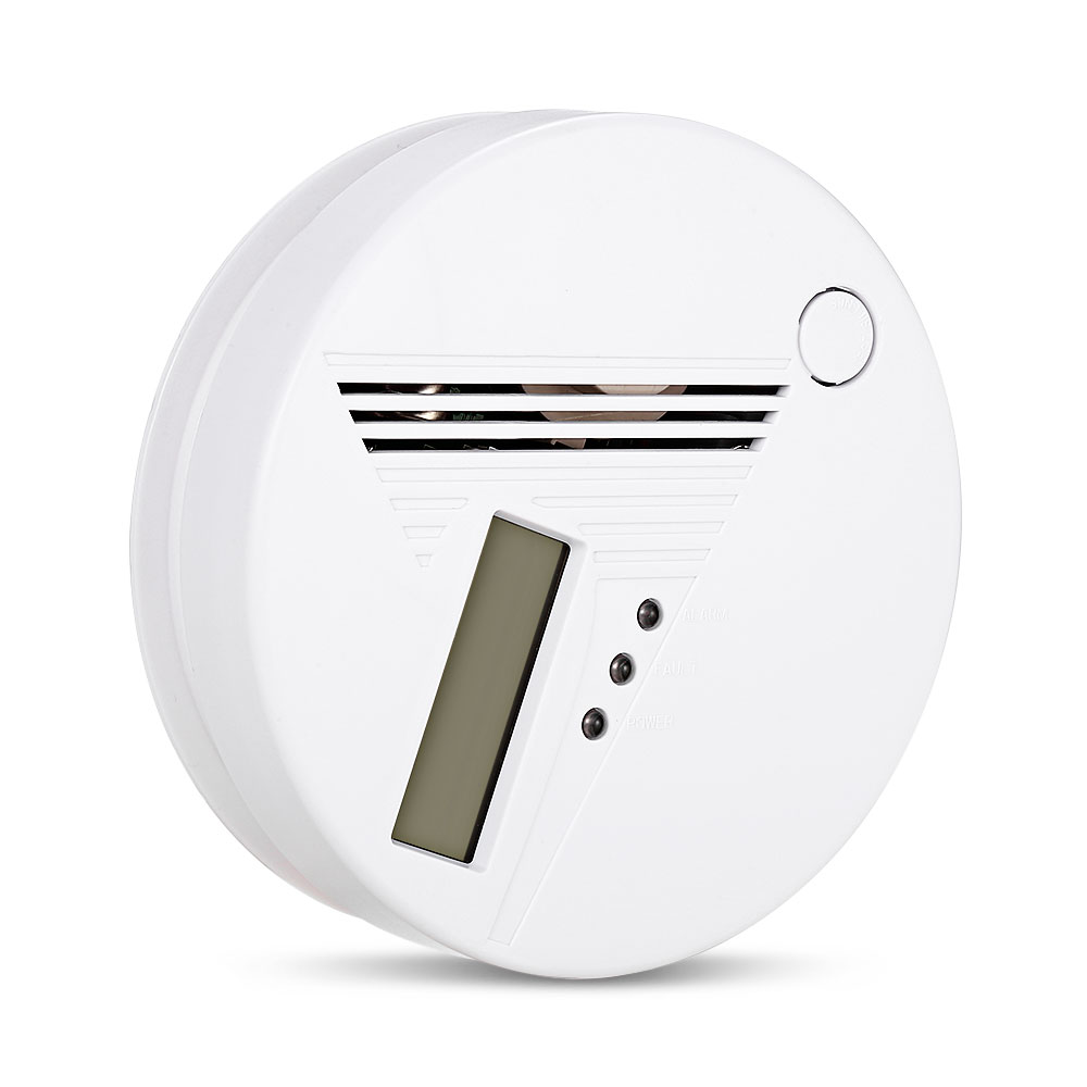 Home Alarm System Intelligent CO Detector Alarm Indoor Independent Carbon Monoxide Gas Detector with LCD Display PA-001D digital co2 monitor detector gm8802 gas detector 3 in1 carbon dioxide temperature humidity detector with lcd backlight display