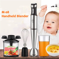 220V Electric Handhold Food Blender Baby Food Mixer Juicer Meat Grinder Multifunctional